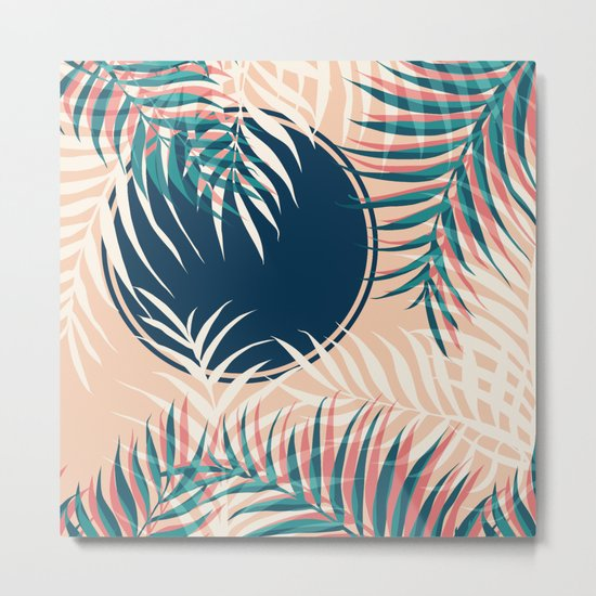 Tropical Sun #society6 #decor #buyart Metal Print