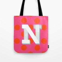 N is for Nice Tote Bag
