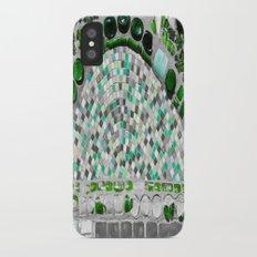 Green Glass iPhone X Slim Case