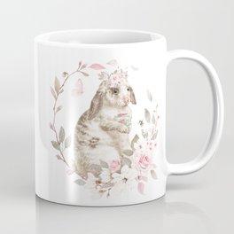 Bunny Blue Eyes Coffee Mug