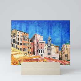Campo de' Fiori Roma Mini Art Print