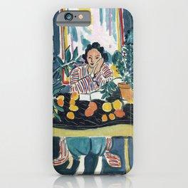 Interior with Etruscan Vase - Henri Matisse - Exhibition Poster iPhone Case