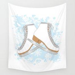 Ice skates Wall Tapestry
