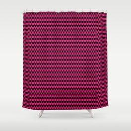 Stripes Stars Cute Pattern Shower Curtain