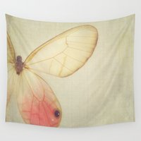 wings Wall Tapestries featuring Wings by Jessica Torres Photography
