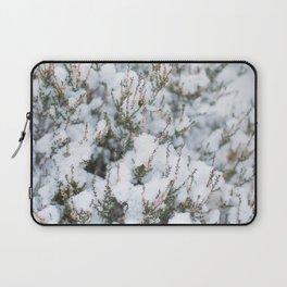 White Winter Hymnal Laptop Sleeve