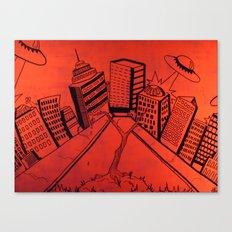Crayliens Canvas Print