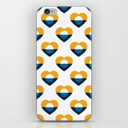 Heart of MKE - People's Flag of Milwaukee iPhone Skin