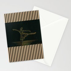 The ballerina Stationery Cards