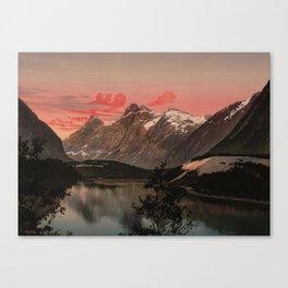 """""""Kongen Dronningen og Bispen Norway"""" Canvas Print"""