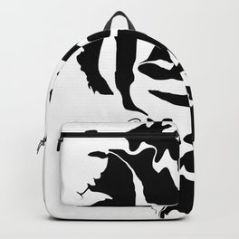 face1 black Backpack