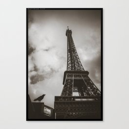 Paris shot Canvas Print