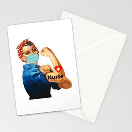 Nurse Not for The Weak The Power Strong Never Underestimate A Nurse Who Survived 2020  Stationery Cards