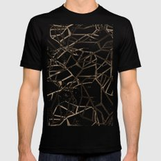 Geometric Pattern 1 Mens Fitted Tee Black MEDIUM