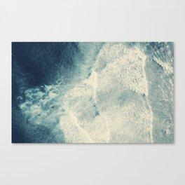 Ocean Surf Canvas Print