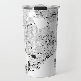 Map: Detroit Non-Local Land Ownership Travel Mug