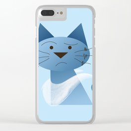 animaligon - Cat Clear iPhone Case