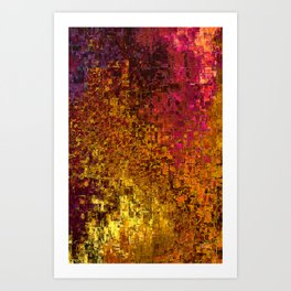 Warm Art Print
