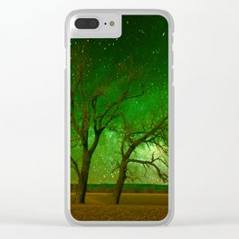 Nature spectacle Clear iPhone Case