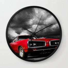 Dodge Badass Red Wall Clock