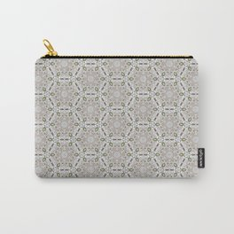 Mandala white Carry-All Pouch
