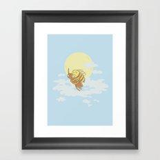 Together We Can Fly Framed Art Print