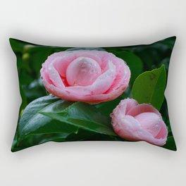 Camellias Rectangular Pillow