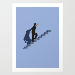 How's it going to end ? Art Print