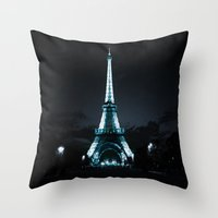 paris Throw Pillows featuring parIS by 2sweet4words Designs
