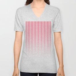 Gradient Stripes Pattern pw Unisex V-Neck