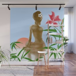 Sunrise Lights Wall Mural