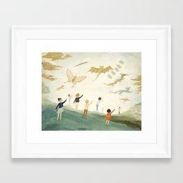 Kites Framed Art Print