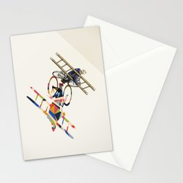 Walking Shadow, Bicyclist Stationery Cards