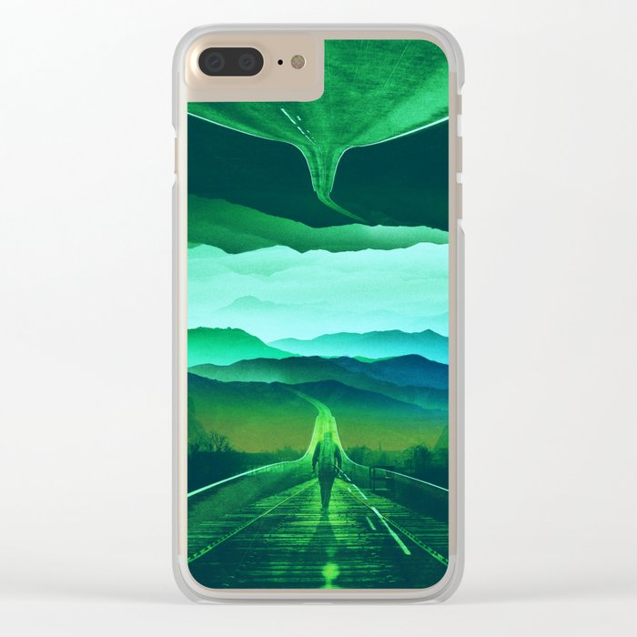 Proof of Existence Clear iPhone Case