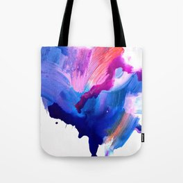 Danbury Abstract Watercolor Painting Tote Bag