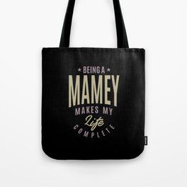 Being a Mamey Tote Bag