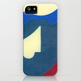 Blue Earth iPhone Case