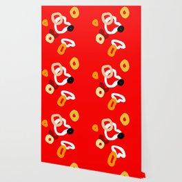 playful red Wallpaper