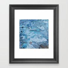 Geometric Swirl Framed Art Print