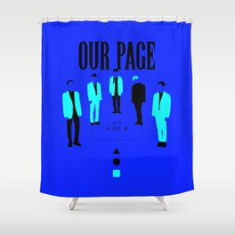 SHINee - Our Page Shower Curtain