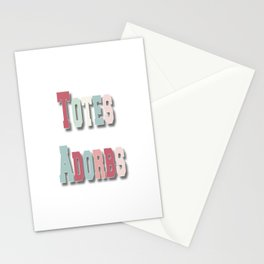 Totes Adorbs Stationery Cards