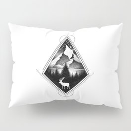 NORTHERN MOUNTAINS IV Pillow Sham