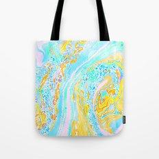 Marble Aqua Tote Bag