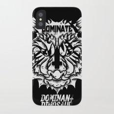Satanic tiger iPhone X Slim Case
