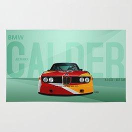 1975 3.0 CSL - Calder Art Car Rug