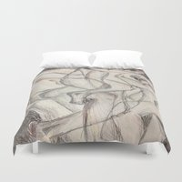 cuddle Duvet Covers featuring Cuddle  by Melissa Roberts