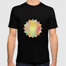Dreams in bloom Black MEDIUM Mens Fitted Tee
