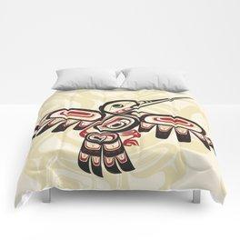 Salish Coast Humming Bird Comforters