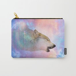Dream By Day (Wolf Dreams - Remix Series) Carry-All Pouch