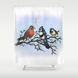 Tweeet! Shower Curtain